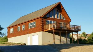 chalet log cabins for sale in pa