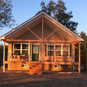 Millinocket, ME Modular Log Home with Loft
