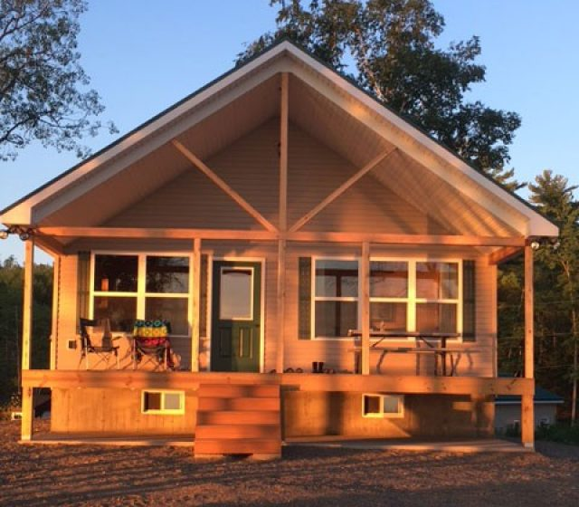 Millinocket, ME Modular Log Home with Loft