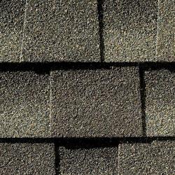 weathered wood colored asphalt shingles