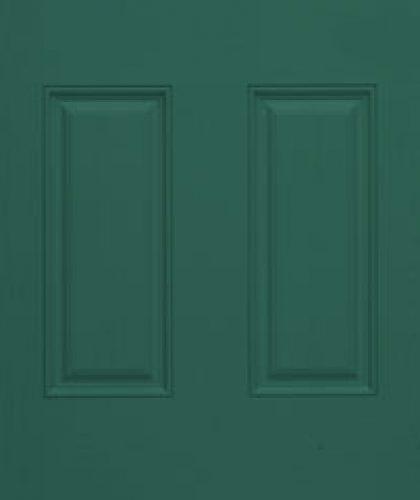 forest green exterior door