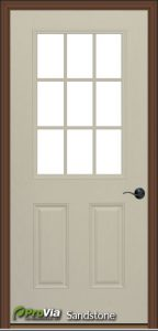provia sandstone exterior door