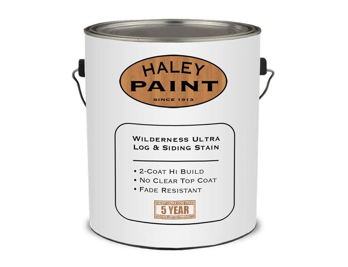 haley paint log cabin siding stain
