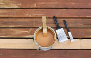 log cabin maintenance and staining