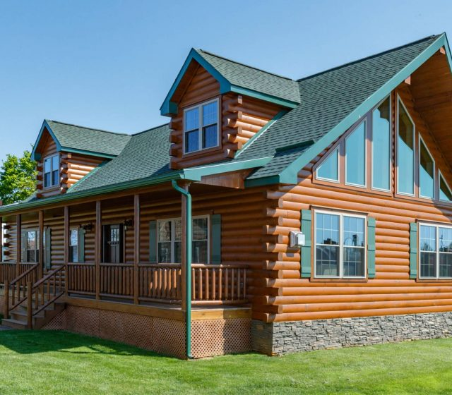 cape cod style modular log homes