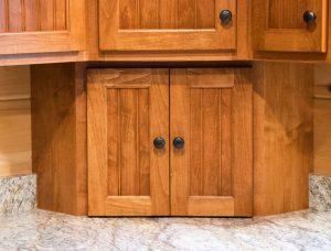 wooden appliance garage