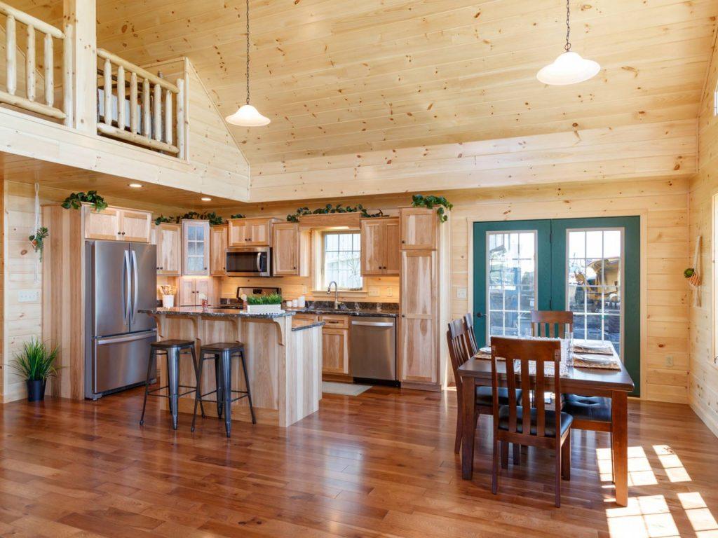 Stylish Log Cabin Interiors Cabin Interior Designs Ideas