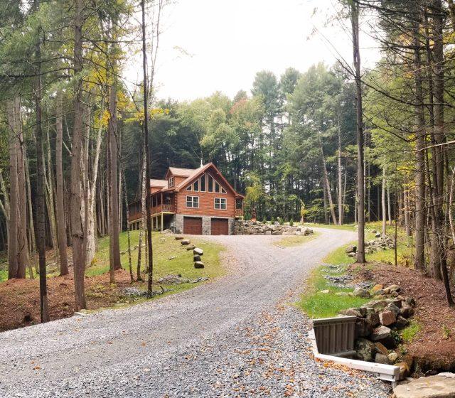 new york modular log home builders