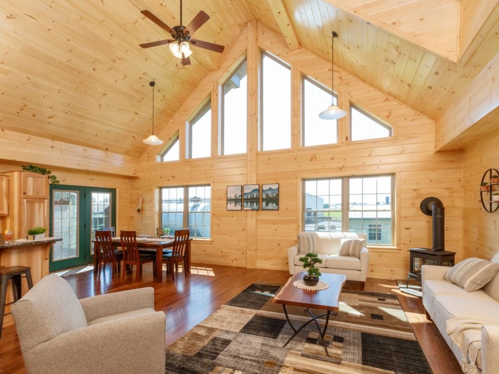 Stylish Log Cabin Interiors View Our Designs Ideas