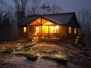 pioneer log home builders in pa