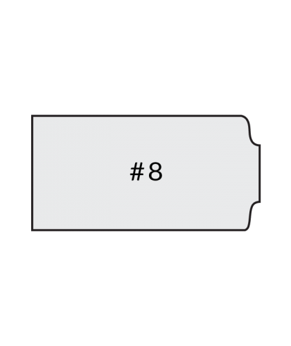 soild surface number 8 countertop profiles
