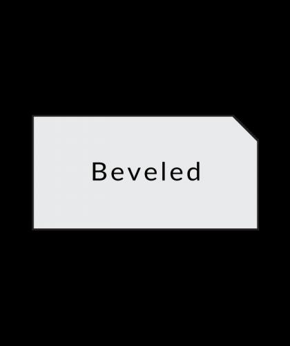 beveled laminate countertop options
