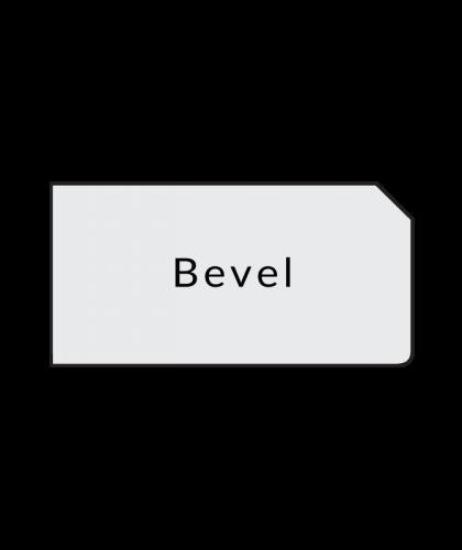 bevel quartz countertops