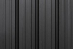 black metal roofing panels