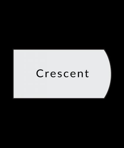 cresent laminate countertop profile