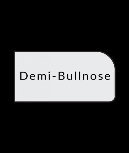 demi-bullnose quartz countertops