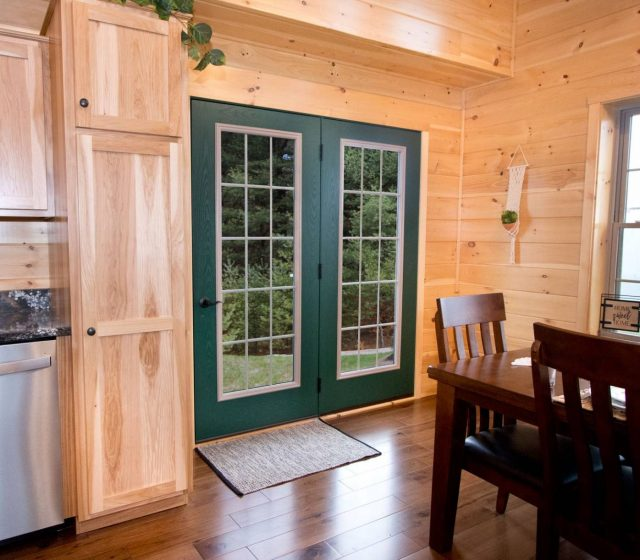 green french door