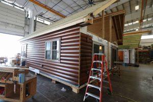 log siding installation