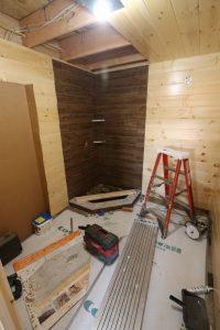 cabin wall installation